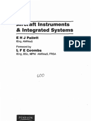 Aircraft Instruments & Integrated System by e.h.j Pallett ... on
