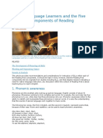 English Language Learners and the Five Essential Components of Reading Instruction