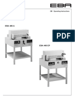 EBA485A 485EP Operator Manual