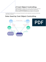Integration of Cost Object Controlling