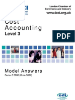Cost Accounting Level 3/Series 3 2008 (Code 3017)