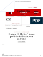 Enrique 'El Mellizo', La Voz Perdida Del Beethoven Gaditano _ Ctxt