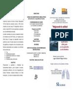 Programa Curso Pacientes 28 de Junio 2010