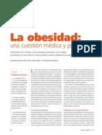 Obesidad Aspectos Médicos y Psicosociales