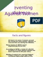 Preventing Crime Against Women