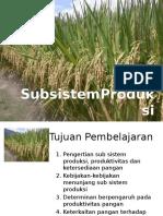5 Subsistem Produksi