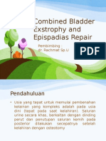 Combined Bladder Exstrophy and Epispadias