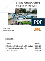 A Study of Electric Vehicle Charging Station Installation Progress in Malaysia 16jan16