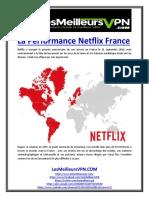 La Performance Netflix France