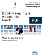 Book-keeping & Accounts Level 2/Series 3 2008 (Code 2007)