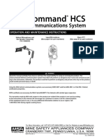 10046197 ClearCommand Helmet Communications System Operation & Maintenance Manual - En
