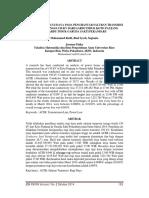 Analisis Rugi- Rugi Daya Pada Penghantar Saluran Transmisi