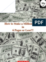 How to Make a Million in Six Pages or Less