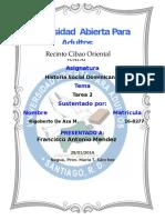 Historia Social Dominicana Tarea 2