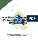 Système d'Information d'Une AGENCE IMMOBILIÈRE