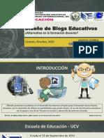 Diseño de Blogs Educativos. Alternativa en La Formación Docente