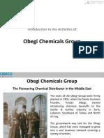 Obegi Chemicals Group Presentation