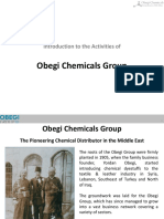 Obegi Chemicals Group Presentation