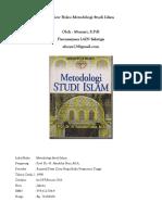 Resume Buku Metodologi Studi Islam