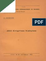 350 Enigmes Kabyles de H.geneVOIS