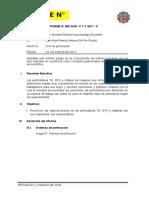 Informe 006 Tren de Perforacion DTH