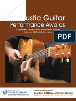 Acoustic Guitar Performance Awards Booklet Web