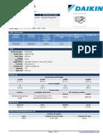 Equipo Paquete 100% Aire Exterior EP 4.01 4.02 4.03 4.04 - Technical Data Sheet Certificación AHRI