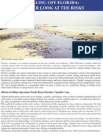 impacts of offshore drilling on Florida's coast