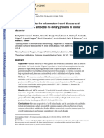 Seroreactive Marker for Inflammatory Bowel Disease