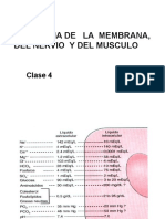 Fisiologia de La Membrana, Nervio. Músculo