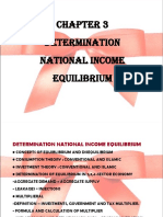 Chap 3 Determination of National Income Equilibrium (1)