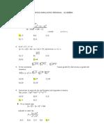 Sinapsis Algebra Simulacro....