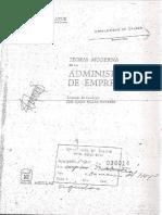 Teoria de La Administracion Moderna - Paul de Bruyne (cap 1)