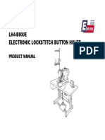 Instruction Manual Brother LH4-B800 E