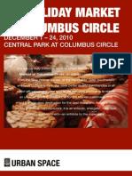 Columbus Circle Holiday Market 2010 Application