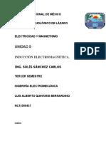 Uniadad 6 Electricidad y magnetismo