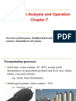 Chapter 7 - Analysis of Bioreactor