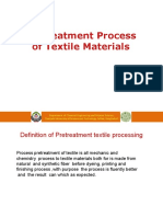 Lecture 5 Operation Pretreatment Process of Textile