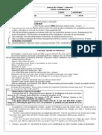 Colégio Impacto avaliação forma I - 6º Ano.docx