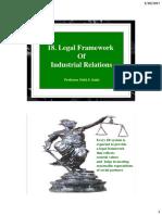 18. Rd. Legal Framework of IR