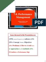 Shd. 7-8. Managing Performance