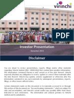 Virinchi Investor Presentation 14122016