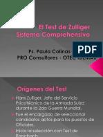Test Zulliger 1era Parte - PRO CONSULTORES