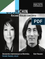 Chin, Unsuk - Rocana, Violin Concero