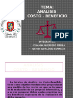 anlisis costo-beneficio