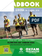 Oxfam Trail walker Girona 2017