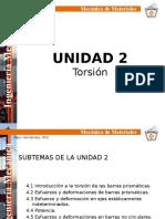 Unidad 2 Torsion
