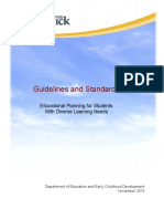 educational planning for students with diverse learning needs