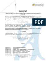 Estatuto Docente FUP 2002