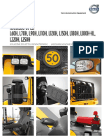 Katalog opcji ładowarki kołowe Volvo L150H - L220H